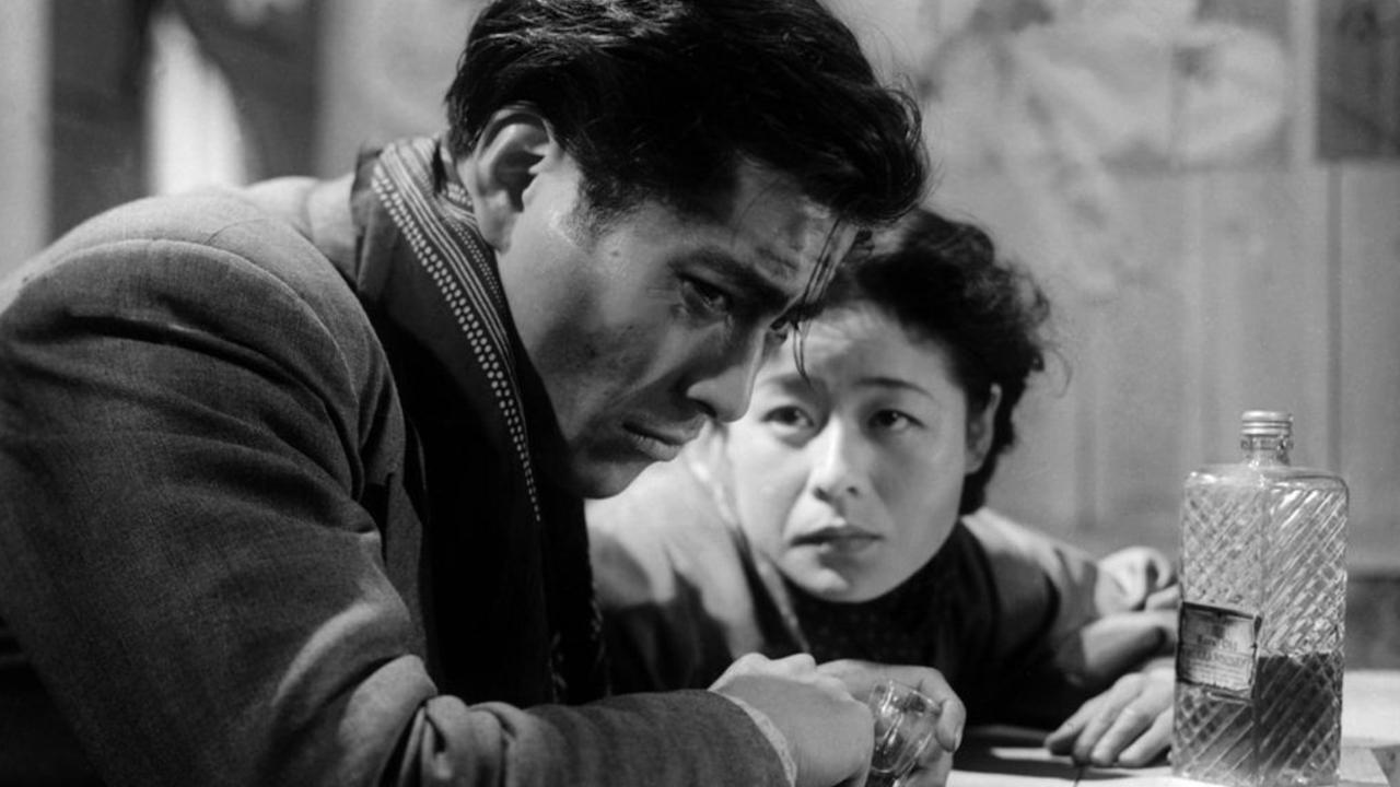 Toshiro Mifune in Drunken Angel