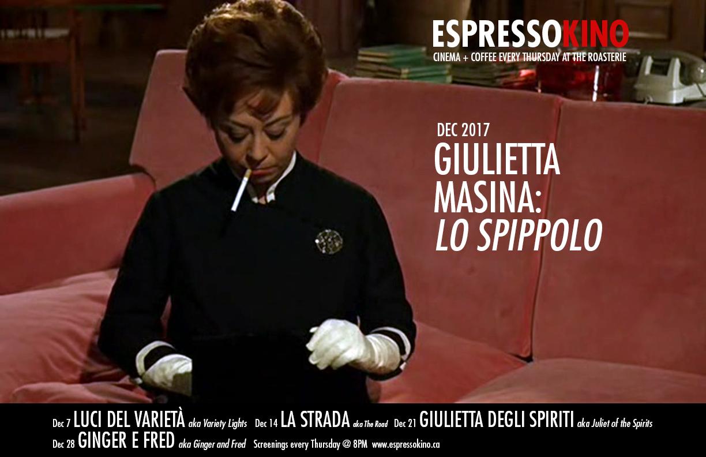 December 2017 A Giulietta degli spiriti