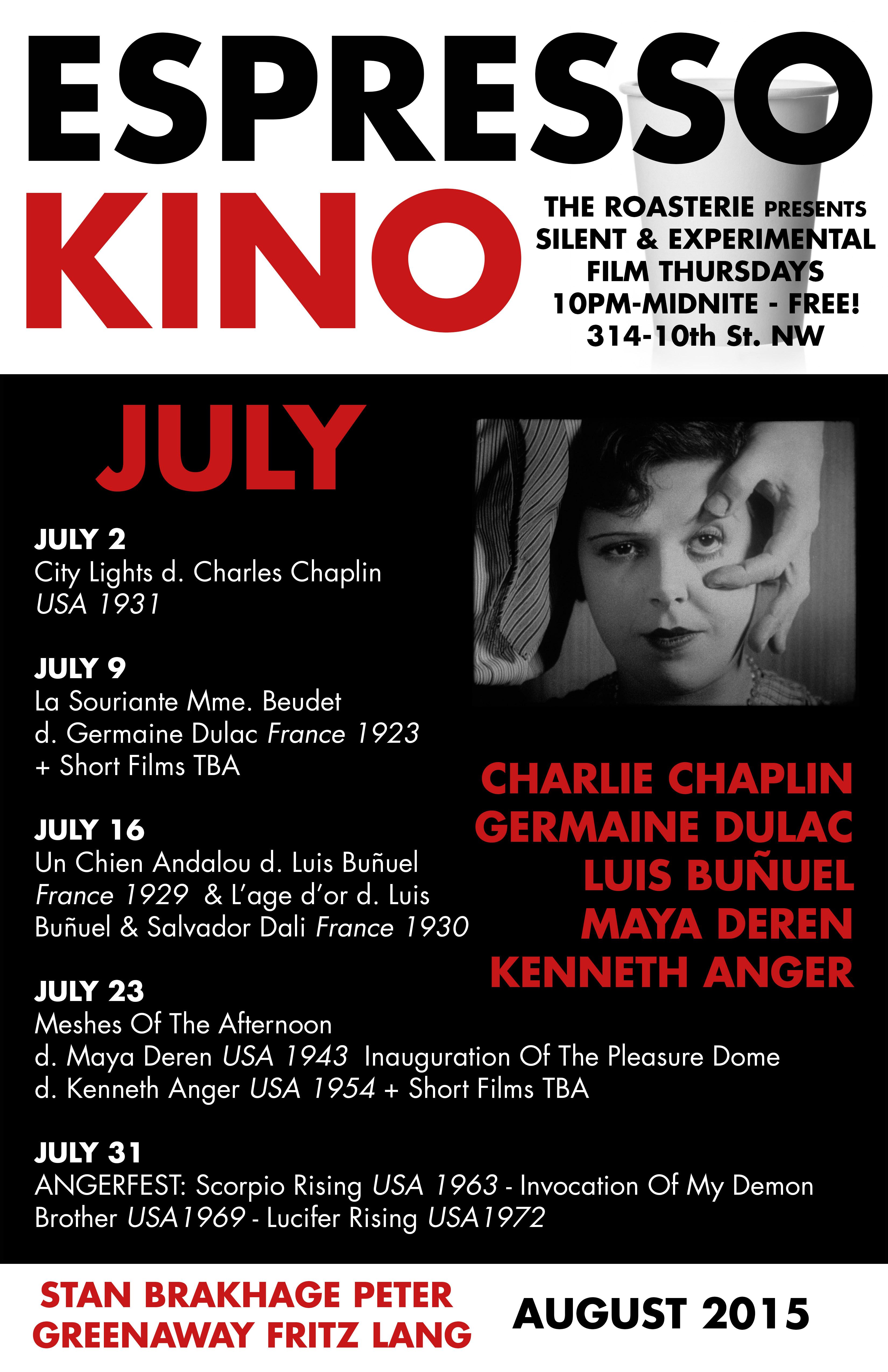 Espresso Kino July 2015