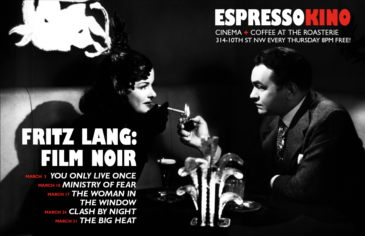 Fritz Lang: Film Noir March 2016 B
