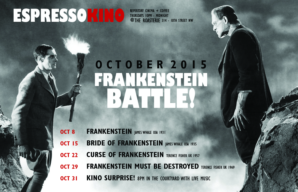 Frankenstein Battle! October 2015