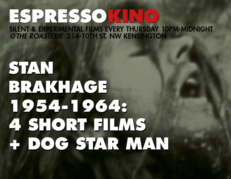 Stan Brakhage: Dog Star Man 'B' August 2015