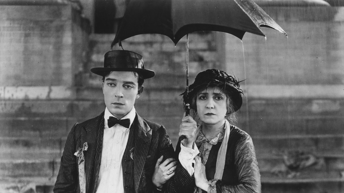 Buster Keaton in 'College'