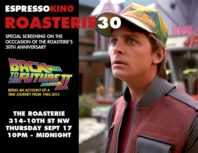 Roasterie 30th Anniversary Special Screening September 2015