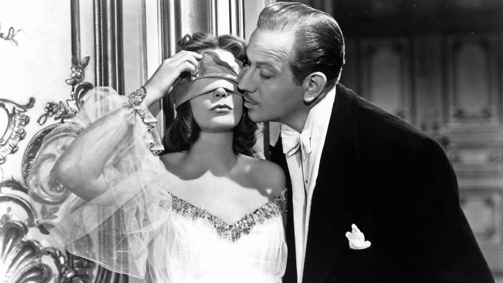Melvyn Douglas and Greta Garbo in Ninotchka